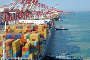 Containerschiff sollen umweltfreundlicher werden