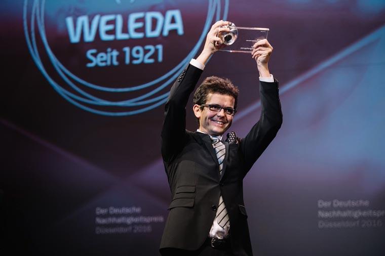 Der Deutsche Nachhaltigkeitspreis ist die größte Auszeichnung für ökologisches und soziales Engagement in Europa