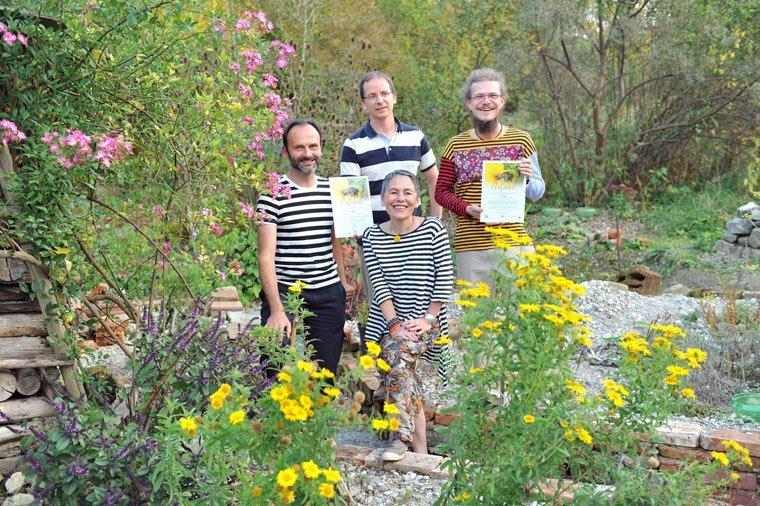Wildgarten-Gruppe im Ökologischen Bildungszentrum München