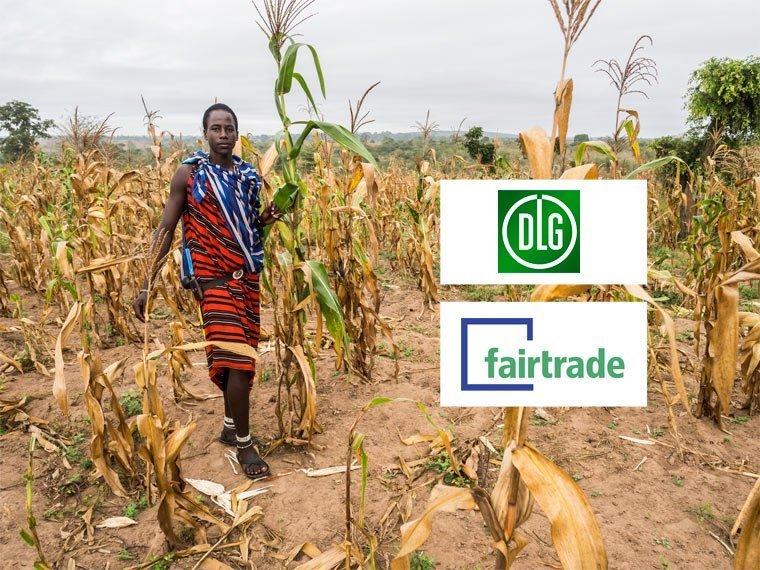 Kooperation von fairtrade und DLG für Afrika