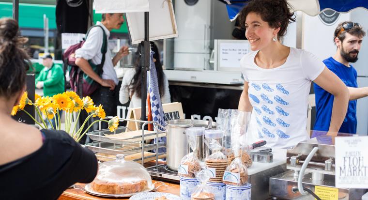 Bewusst genießen: Leckeres Bio Street Food sorgte beim Nachhaltigkeits-Festival für das leibliche Wohl