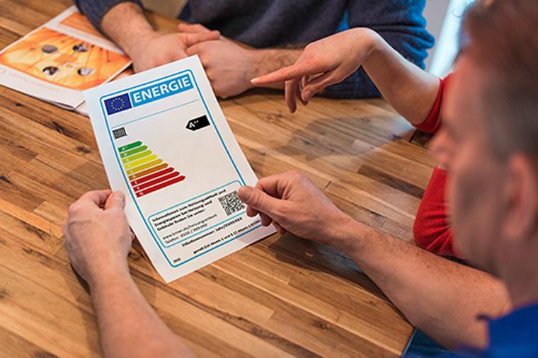 Ein neues Label für Heizungen sagt, wie viel Energie sie brauchen.