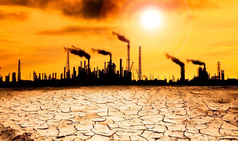 Mit dem Paris-Abkommen 2015 hat die Weltgemeinschaft für die Erderwärmung eine Obergrenze von zwei Grad festgelegt.
