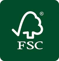 Das FSC Siegel steht fuer nachhaltigen Waldbau