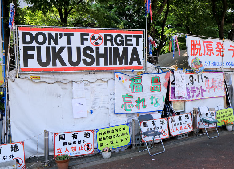 Die Anti-Atomkraft-Bewegung nach Fukushima