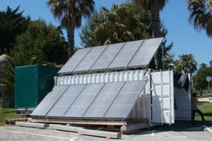 Solaranlage zur Trinkwassergewinnung