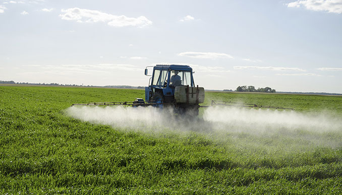 Glyphopsal wird in der Landwirtschaft eingesetzt