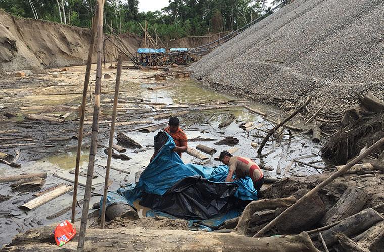 Verunreinigung des Grundwassers