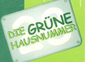 Grüne Hausnummer Mainz