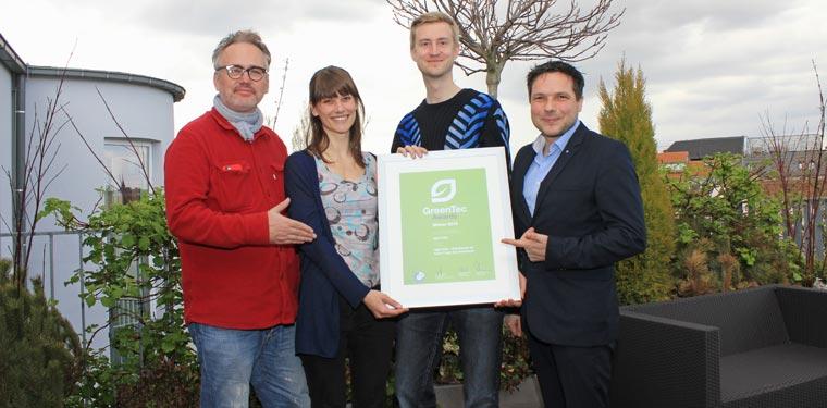 Automatisierte Kupplung gewinnt GreenTec Award