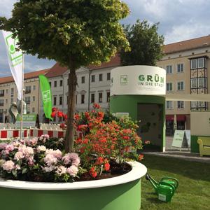 Deutschlands Städte sollen grüner werden.