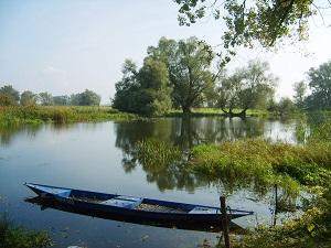 Mit dem Floß auf der Havel ©NABU/ L. Giebel