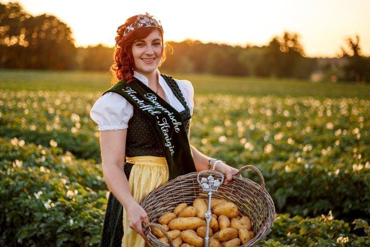 Bayern krönt seine Kartoffelkönigin