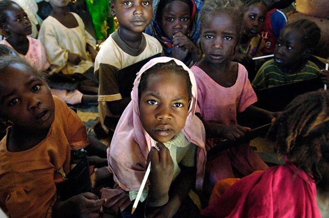 Kinder im Sudan