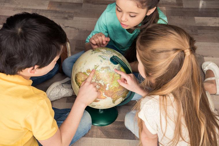 Kitagruppen und Schulklassen erkunden den Umweltschutz