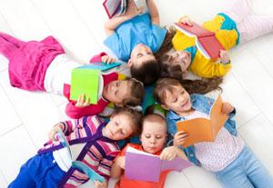 Während der Leipziger Buchmesse können Kinder im Leipziger Zoo