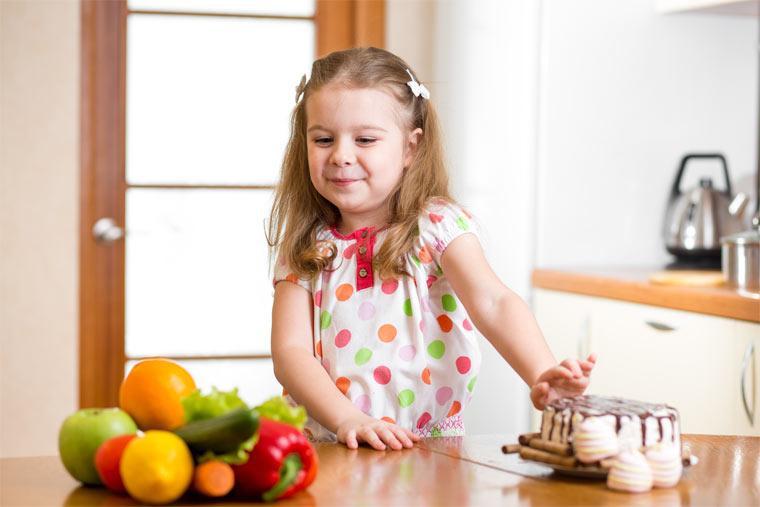Ernährungskonzept für Kinder
