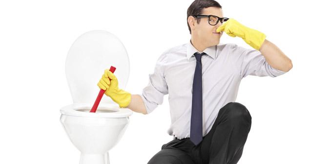 Toilette kein Mülleimer