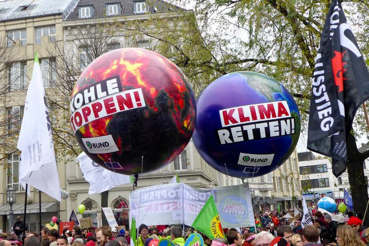 Kohle stoppen für den Klimaschutz