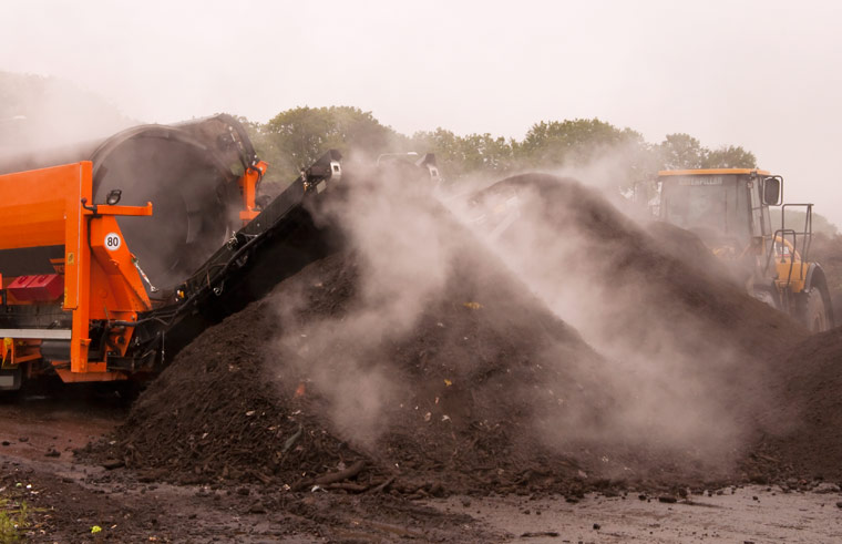 Schadstoffe in Kompostieranlagen verringern