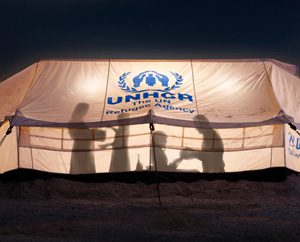 IKEA Flüchtlingshilfe LED