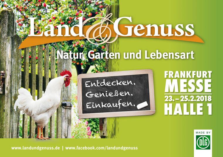 LAND & GENUSS Messe in Frankfurt