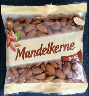 Diese Mandelkerne sind eventuell gefährlich. © Lebensmittelwarnung.de