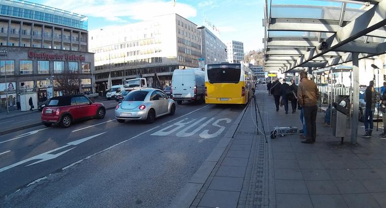 Die Stuttgarter Luft ist schwer belastet. Bei Untersuchungen im Dezember und Januar wurden in der Baden-Württembergischen Landeshauptstadt extrem hohe Stickstoffdioxid-Werte gemessen.