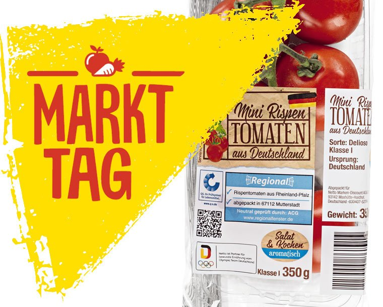 Markttag - Neue Eigenmarke bei Discounter