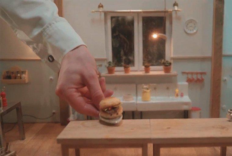 Niedliche Micro Meals mit ernster Botschaft