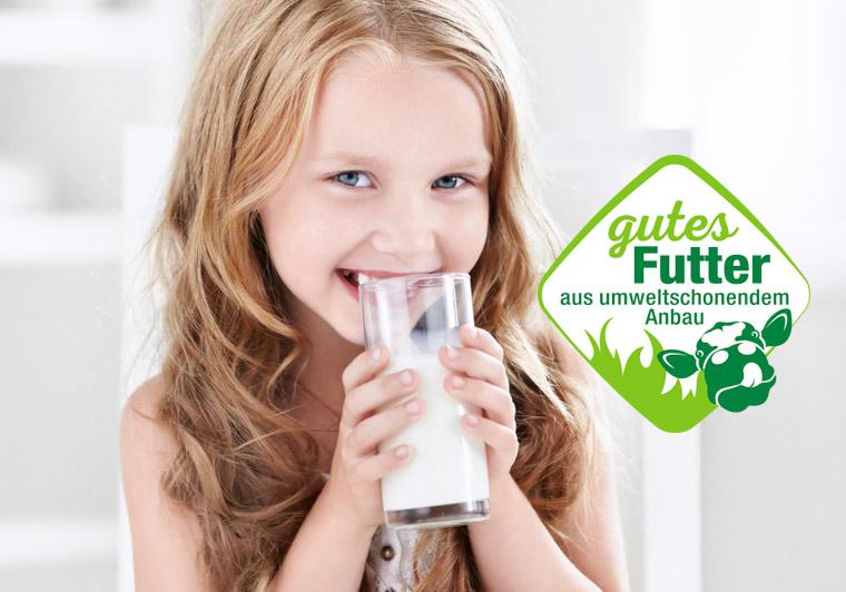 Milch ohne Gentechnik