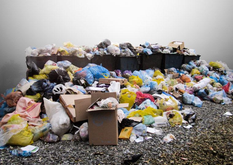 Leben in einer Welt ohne Abfall