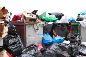 Plastikttüten-Müll