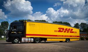 Der neue Teardrop Trailer hat eine aerodynamische Form und dadurch einen geringeren Spritverbrauch © Deutsche Post DHL