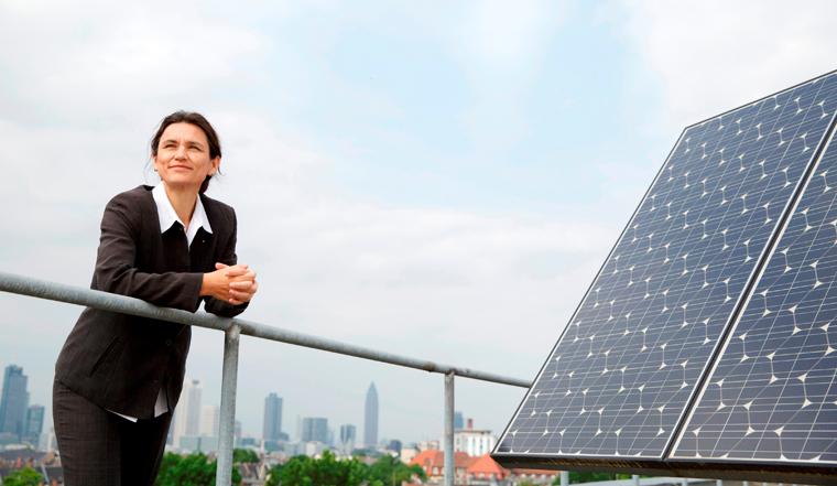 Die Frankfurter Professorin Martina Klärle steht im Finale um den Deutschen Nachhaltigkeitspreis Forschung