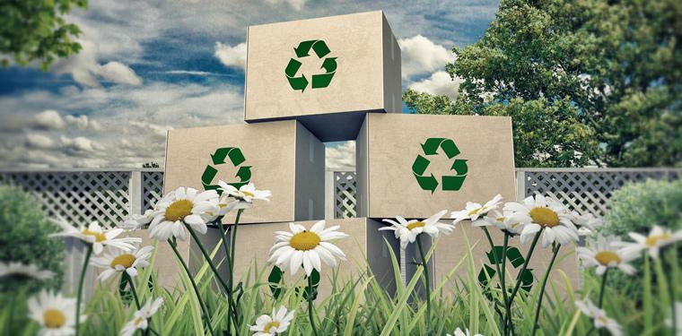 Papieratlas veranschaulicht Umweltschutz