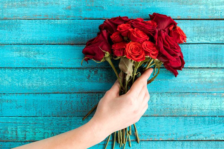 Warnung vor Pestiziden in Rosensträußen
