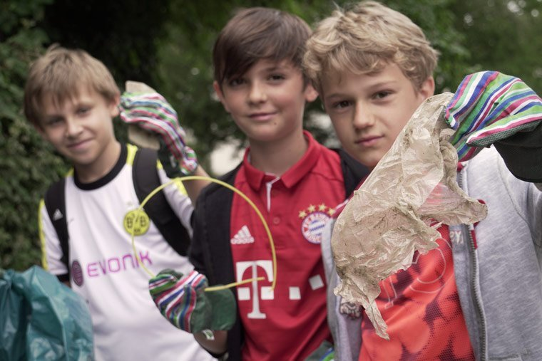 Über 22.000 Kinder sammeln Müll für Umweltschutz