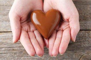 Schokolade könnte gut fürs Herz sein