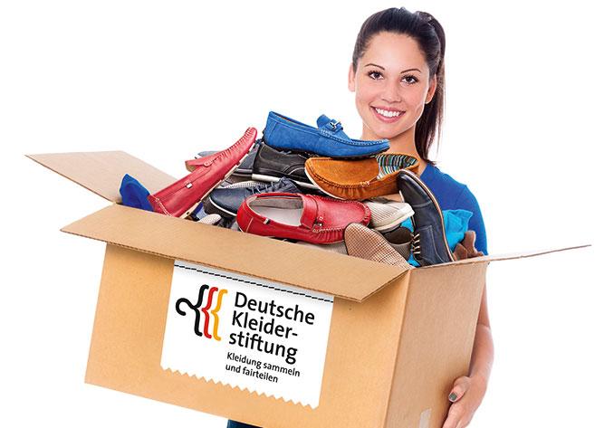 Ausrangierte Kleidung muss nicht in den Müll wandern