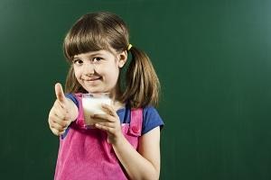 Gesunde Ernährung Schulmilch