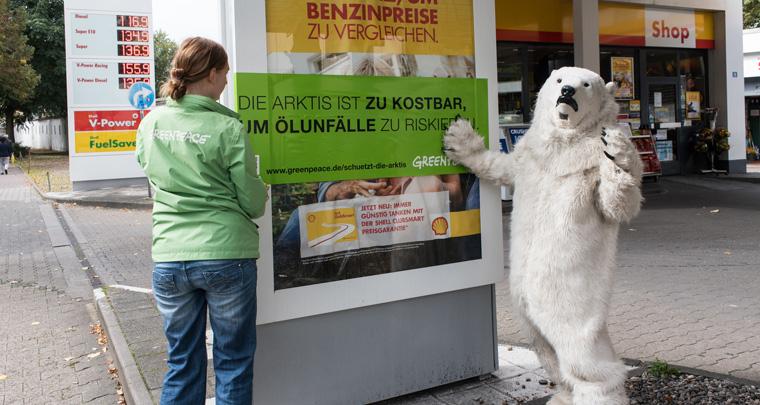 Shell stoppt die Ölbohrungen in der Arktis
