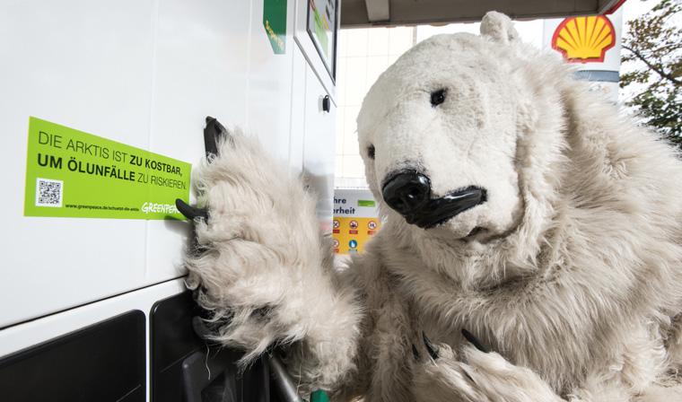 Greenpeace warnt schon lange vor den möglichen Folgen von Ölbohrungen in der Arktis