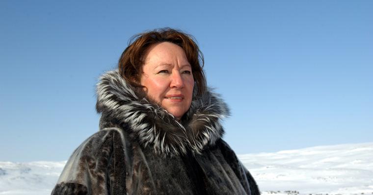 Sheila Watt-Cloutier kämpft für den Klimaschutz und die Rechte der arktischen Inuit