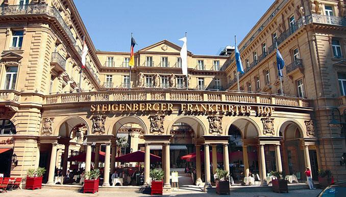 Das Steigenberger Hotel in Berlin