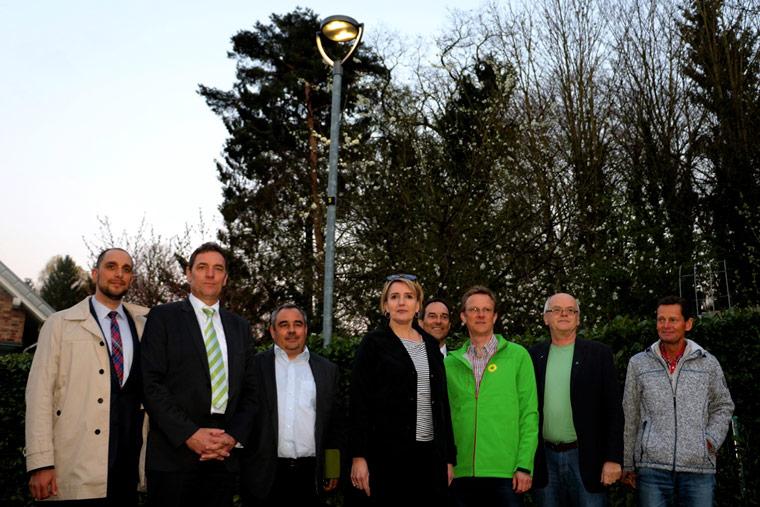 Energiesparende Straßenbeleuchtung in Bergisch Gladbach
