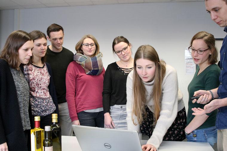 Studenten der FH Münster