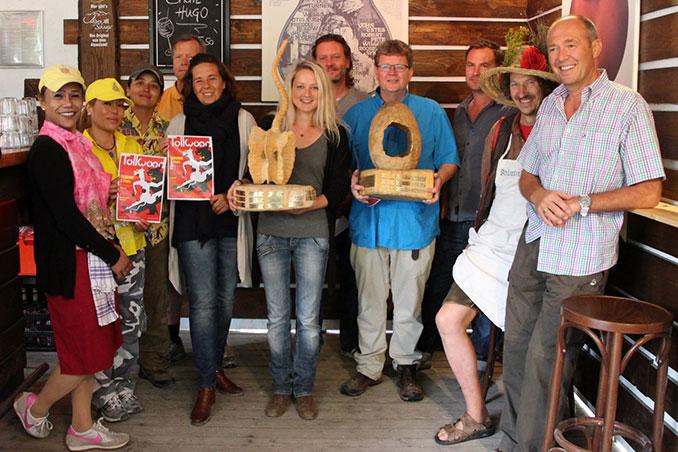 Tollwood Gastro Gewinner Gruppenfoto