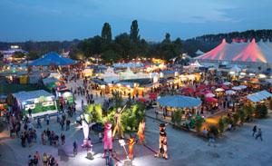Das Sommerfestival 2014 hatte ein buntes Programm © Bernd Wackerbauer/ Tollwood