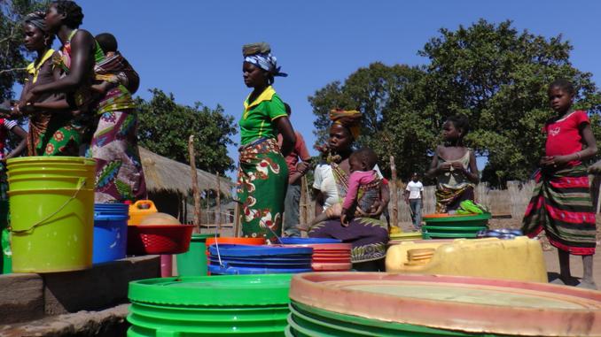 Wasser Mosambik